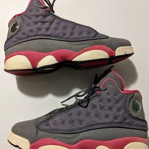Nike Air Jordan 13 Cool Grey/Fusion Pink Size 7Y